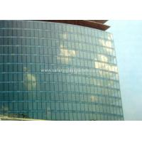Cheap Curve / Flat Laminated Safety Glass Minimum Size 250 Mm-350 Mm Solid Structure for sale