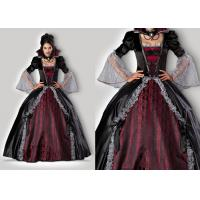 Cheap Vampires Of Versailles 1083 Womens Halloween Costumes , Gray Red Scary Halloween Costumes for sale