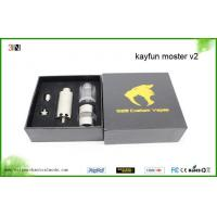 Buy cheap Rebuildable Kayfun Monster v2 Atomizer with Custom Drip Tip from Wholesalers