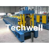 Cheap Sigma Profile S18 Sigma Post Guardrail Forming Machine With 36# H Steel Machine Base for sale