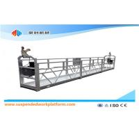 Cheap Aluminium Alloy / Steel / Hot Galvanized Suspended Access Equipment ZLP1000 wholesale