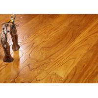 Cheap Household Ash Solid Wood Flooring Embossed Moisture Proof 910MM Length for sale