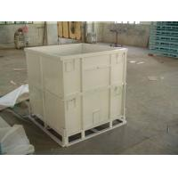 China stainless steel transport roll cages for warehouse on sale