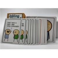 Professional Fun Party Card Game Cyanide And Happiness Custom Printing Logo