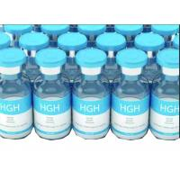 Cheap HGH Growth Hormone Steroid Vial Labels With Waterproof White PVC for sale