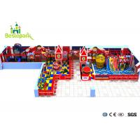 Cheap Huge Residential Playground Equipment , Childrens Plastic Playground Equipment for sale