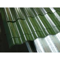 Solid Color Coated Corrugated Steel Roofing Sheets With