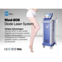 Cheap Germany 6 Bar Handpiece Laser Diode 808 Nm Hair Removal Machine , Laser Depilation Machine for sale