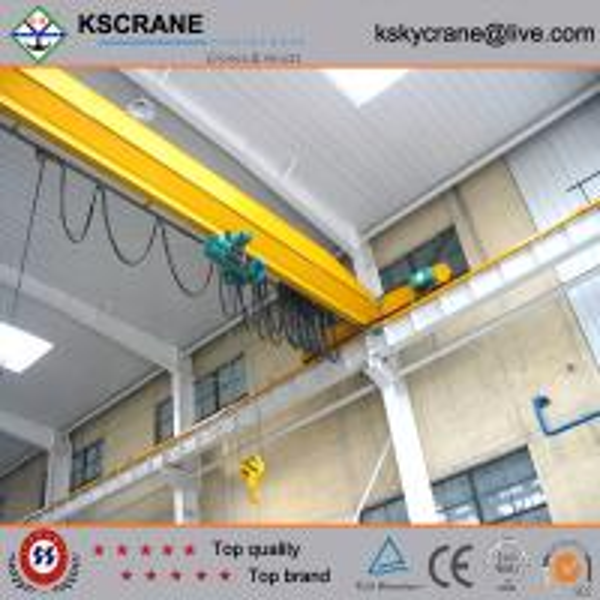 Overhead Crane Beam Design : Material handling one beam bridge crane design with