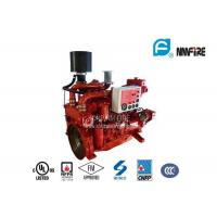 China Red Professional Fire Pump Diesel Engine 144KW With Water Cold Cooling on sale