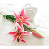 China Artificial Pink Lily on sale