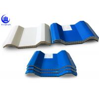 China Hollow Style ASA double wall plastic sheet Durable Form 10mm on sale