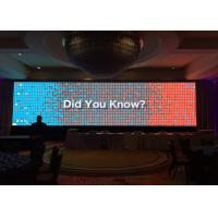 Cheap Multi Color Led Video CurtainWall High Brightness 800 Nits P4.81 For Stage Background for sale