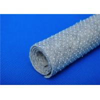 Cheap Anti Bacteria Felt Underlay / Nonwoven Fabric Base Cloth with Dots for sale