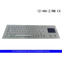 Buy cheap Industrial Keyboard With Touchpad And 64 Keys IP65 Rated For Kiosk from Wholesalers