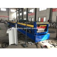 China 75mm High / 50 High Floor Deck Roll Forming Machine With Double Motor Control on sale