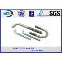 Cheap SGS Stainless Steel Bolts Galvanised Bent Anchor Bolts For Fastenings for sale
