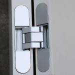 Cheap zinc alloy flush doors 3D adjustable concealed hinge 60kg for sale