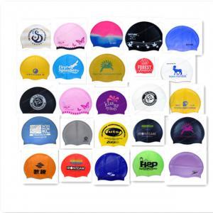 China custom swim cap no minimum on sale