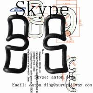 Buy cheap Elastic rail clip/ SKL tension clamping /SKL tension clamp /PR series Elastic from wholesalers