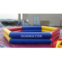 Cheap Durable PVC Inflatable Swimming Pools With  0.9mm Or 0.6mm Material for sale