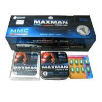 China Lasting Time Maxman 5 Capsules , Increase Sexual Confidence Dick Enlargement Pills on sale