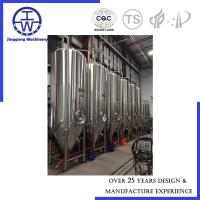 Cheap Large Beer Fermentation Tank 5000-10000 Litre Customized Dimension SS316L for sale