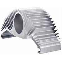 Buy cheap Silver Anodize Extruded Aluminum Heat Sink High Efficiency Heat Dissipation For Motor Housing from wholesalers