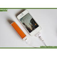 Cheap Pocket Lipstick 18650 Power Bank For Smartphones / Mobile Phone Portable Charger wholesale