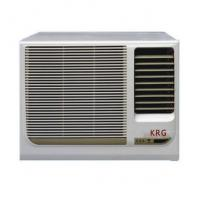 China China 18000Btu/h Window Mounted Air Conditioner for Cooling and heating, R22 R410A gaz fixed frequency 3 speed on sale
