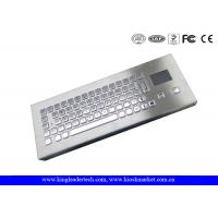 Buy cheap IP65 Mini Industrial Desktop Keyboard Metal With Touchpad from Wholesalers