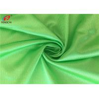 Cheap Warp Knitted Polyester Tricot Knit Fabric Shiny Dazzle Fabric For Jerseys Green Colour for sale