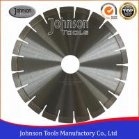 Cheap Silver Brazed Diamond Stone Cutting Disc , Dry Cut Saw Blade 300-1600mm  for sale