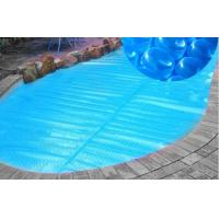 China 500um Blue Swimming Pool Solar Cover Heating Blanket For Above Ground Private on sale