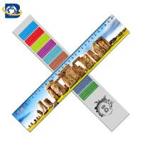 Quality Custom 3d lenticular Ruler Straight Rulers Promotional Gift Stationery wholesale