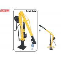 Cheap Boom Truck Manual Jib Crane With Swivel 360 Degree Capacity 500kg-1000kg for sale