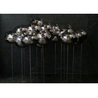 Cheap Polished Stainless Steel Sculpture Cloud Art Modern Home Decoration Forging Technique for sale
