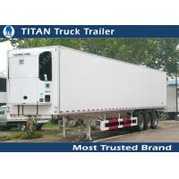 Cheap Thermo King 20ft 40ft 53ft mobile refrigerated trailer truck / cooler trailer for sale