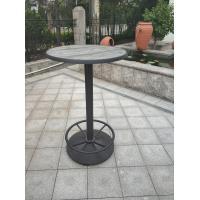 Cheap Pub Furniture Coffee Table Base Waterproof Table Leg Cafe Table Outdoor Furniture for sale