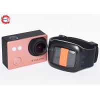 Cheap Mini HD Sports Camera 1080p , Camcorders Action Camera WIFI Underwater 30m wholesale