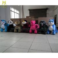 Cheap Hansel High Quality Hot Selling electric animal pet zippy walking in china kiddie animal ride car for sale
