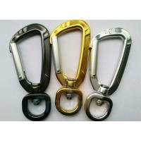 Buy cheap 91MM Height Spring Snap Clip , Light Weight High Strength Heavy Duty Carabiner Clips from wholesalers
