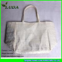 Cheap silver metalic paper cloth straw handbags on sale for sale