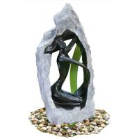 Cheap Outside Garden Statue Water Fountains With Fiberglass / Cement / Magnesia Material for sale