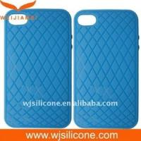Cheap Debossed Silicone Case for Iphone 4 Accessories for sale