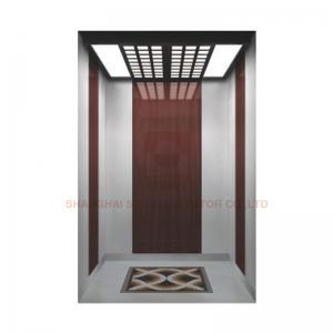 Buy cheap Floor PVC / Hairline Stainless Steel Elevator Cabin Decoration Car Design For Passenger Elevator from wholesalers