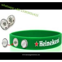 Cheap custom 1 inch wide fat silicone wristbands silicone rubber wristband for club, sport team for sale