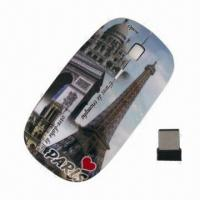 Cheap OEM Ergonomic Design Built-in USB Dongle RF 2.4G Optical Wireless Mouse, Easy to Handle for sale
