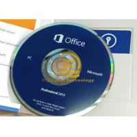 Cheap 32 / 64Bit Computer System Softwares , Microsoft Office Professional Plus 2013 DVD Drive for sale