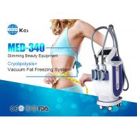 Cheap 2 Handles Cryotherapy Fat Freezing Device For Weight Loss MED-340 Rapidly Slimming Machine wholesale